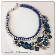 Shourouk Necklace blue