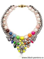 Shourouk Rainbow Necklace 2014