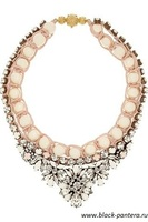 Shourouk Necklace beige 2014