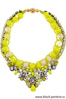 Shourouk Necklace yellow 2014