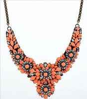 Shourouk Apolonia Coral Necklace