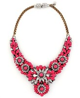 Shourouk Apolonia Pink Necklace