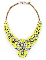 Shourouk Apolonia yellow Necklace